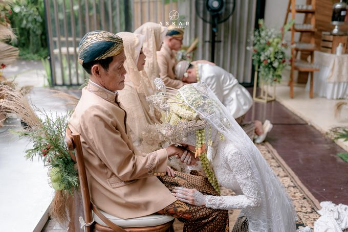 Wedding Puji & Arief by Azila Villa - 014