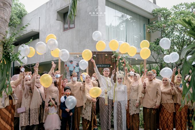 Wedding Puji & Arief by Azila Villa - 024