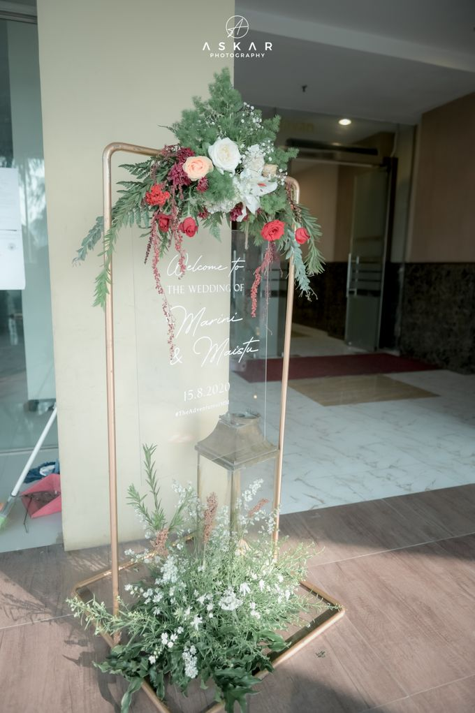 The Wedding of Marini & Mais di HOM Metland, Tambun by Decor Everywhere - 003