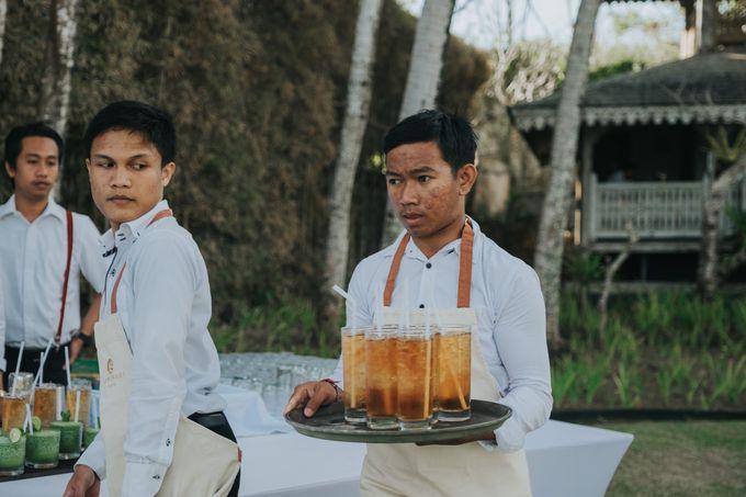 Plated buffet - Angelina & Arland by Kaminari Catering - 005