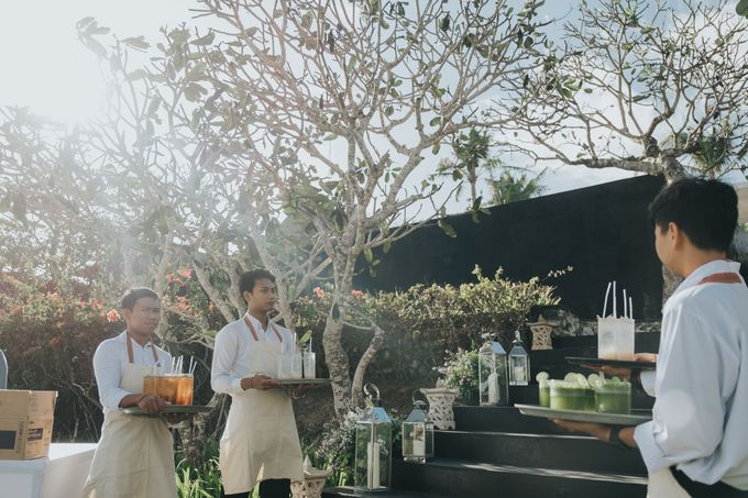 Plated buffet - Angelina & Arland by Kaminari Catering - 007