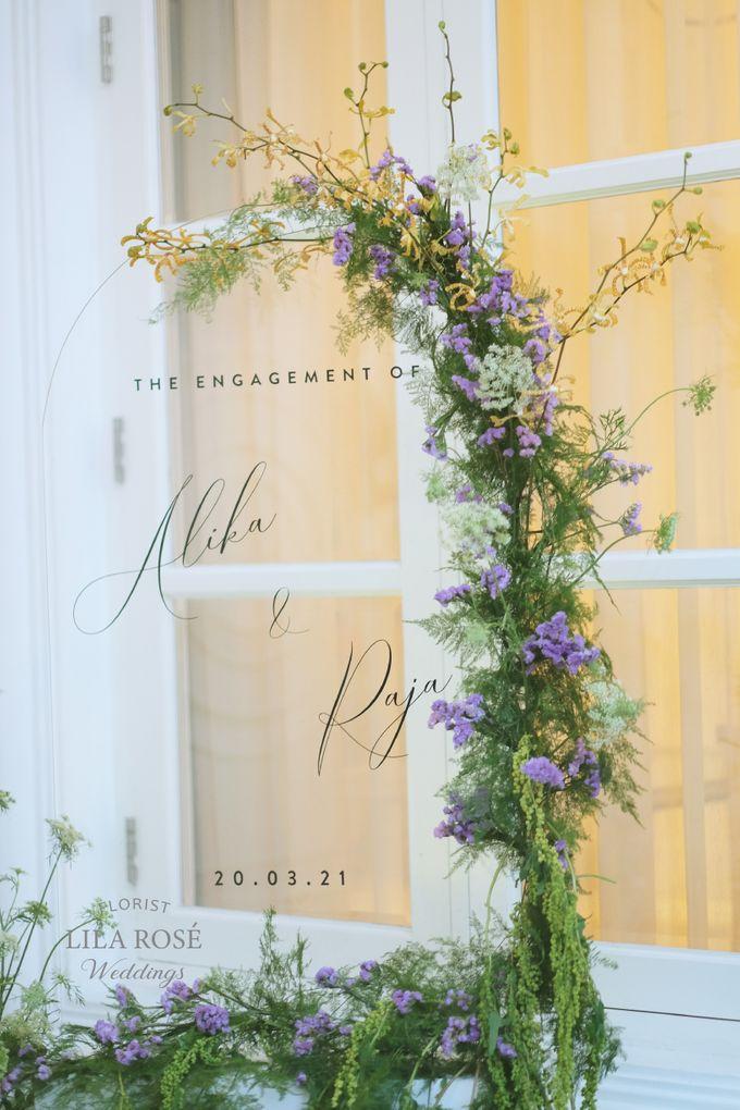 Engagement Day of Alika Islamanda & Raja Siregar by Lila Rosé Weddings - 001