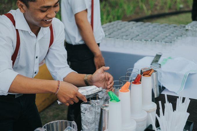 Plated buffet - Angelina & Arland by Kaminari Catering - 012
