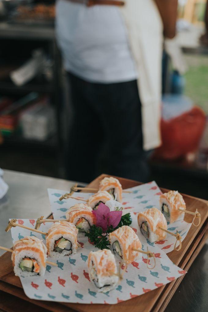 Plated buffet - Angelina & Arland by Kaminari Catering - 018