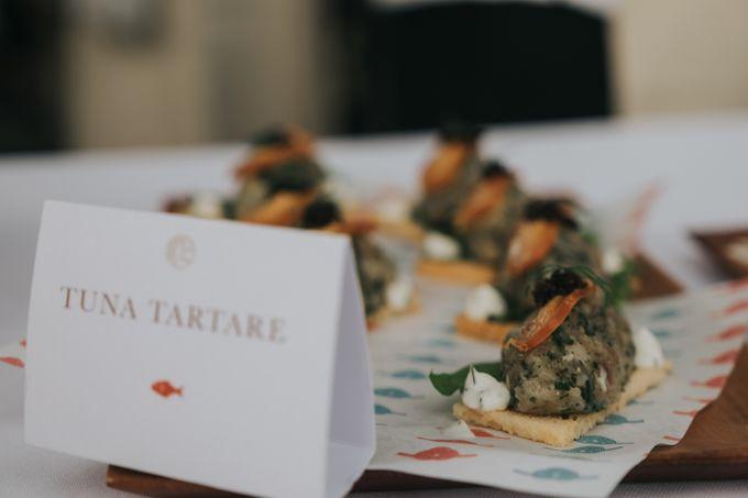 Plated buffet - Angelina & Arland by Kaminari Catering - 033