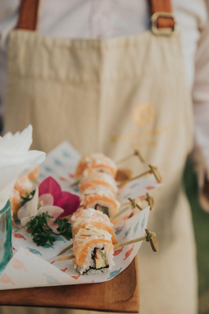 Plated buffet - Angelina & Arland by Kaminari Catering - 036