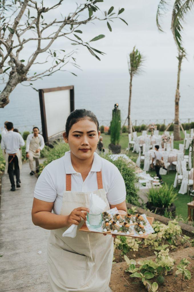 Plated buffet - Angelina & Arland by Kaminari Catering - 039