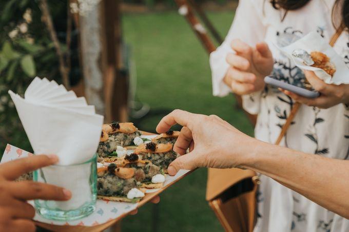 Plated buffet - Angelina & Arland by Kaminari Catering - 040