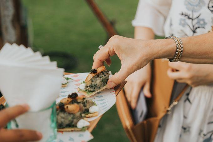 Plated buffet - Angelina & Arland by Kaminari Catering - 041