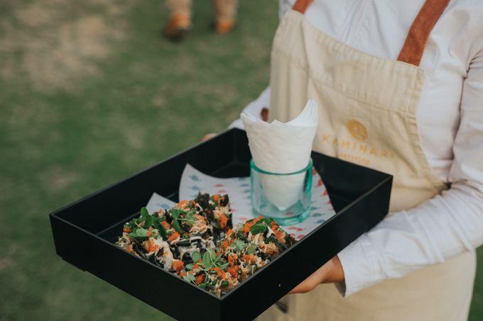 Plated buffet - Angelina & Arland by Kaminari Catering - 048