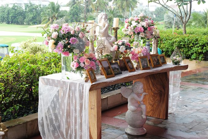 The Wedding of Marvin & Marcela - Damai Indah Golf PIK by The Swan Decoration - 010