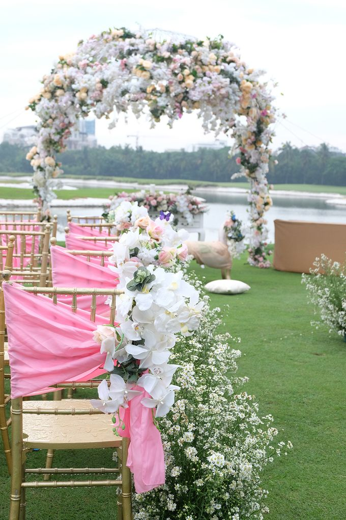 The Wedding of Marvin & Marcela - Damai Indah Golf PIK by The Swan Decoration - 006