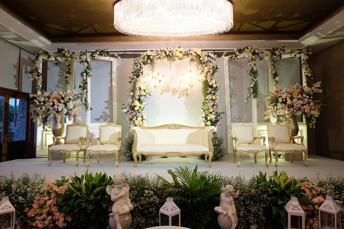 The Wedding of Marvin & Marcela - Damai Indah Golf PIK by The Swan Decoration - 001