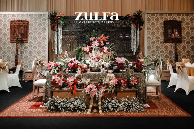 DIMAS & SHAFIRA - 12 APRIL 2019 - GRAND SUDIRMAN BALLROOM by Zulfa Catering - 001