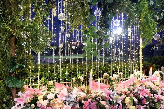 The Wedding of Marvin & Marcela - Damai Indah Golf PIK by The Swan Decoration - 008
