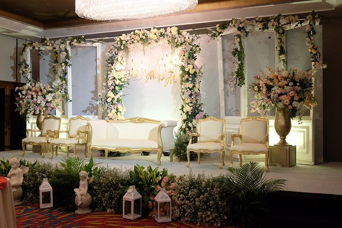The Wedding of Marvin & Marcela - Damai Indah Golf PIK by The Swan Decoration - 002