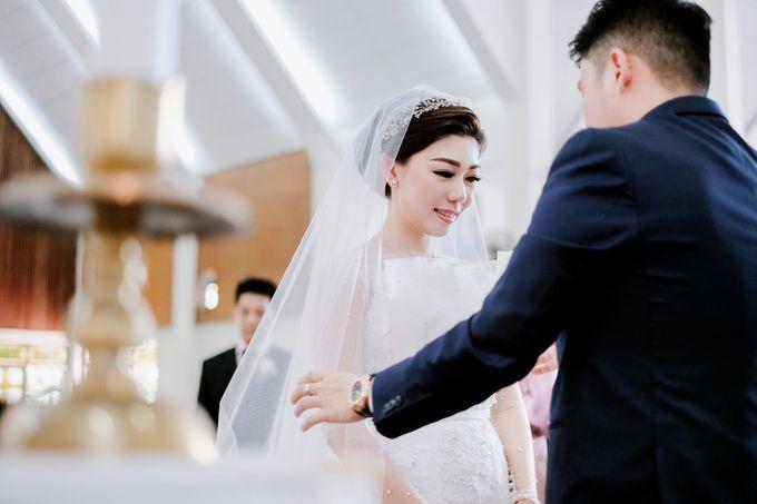 THE WEDDING OF REZHA & CILLA by Alluvio - 032