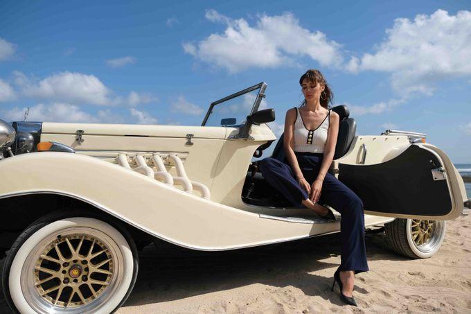 White Classic Car by Bali Classic Community - 025