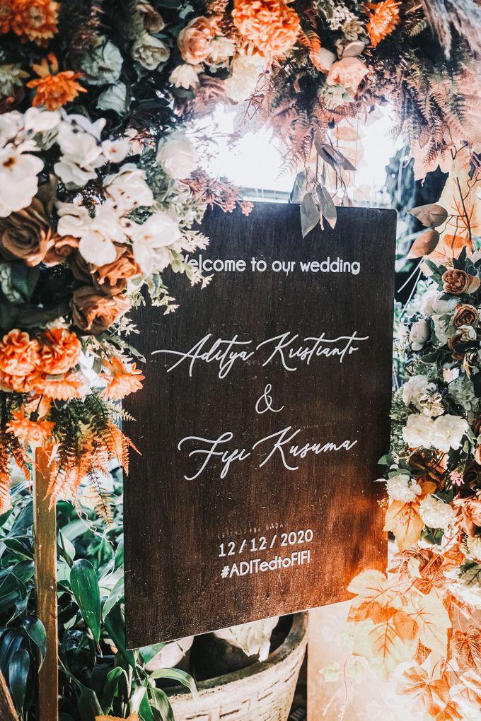 Adit & Fifi Wedding At The Imperium Kuningan by Fiori.Co - 012