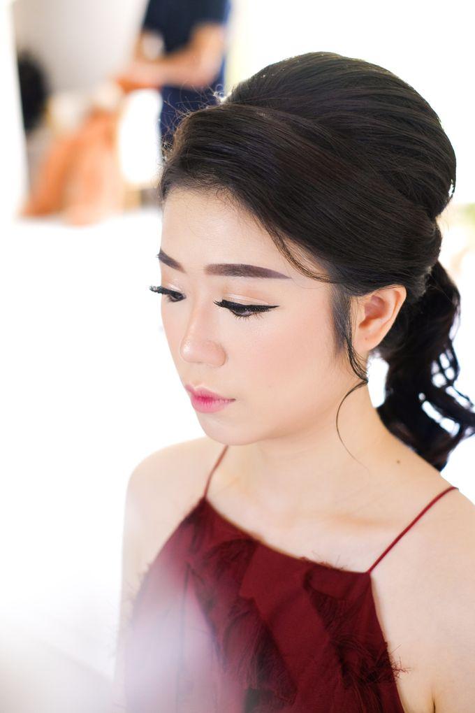 prewed makeup for ms angel by Novysarilim Makeup - 002