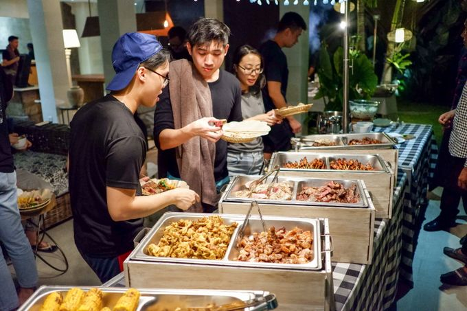 Family Gathering - Villa Abaca by Hog Wild Catering Bali - 011