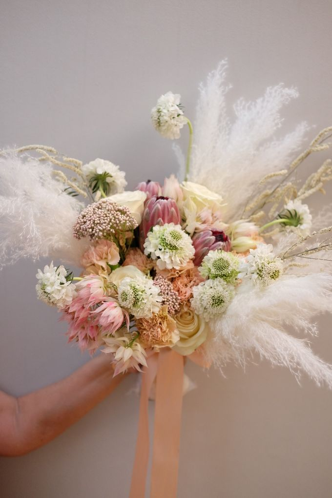 Trend Alert! Pampas Grass by La Bloom Florist - 001