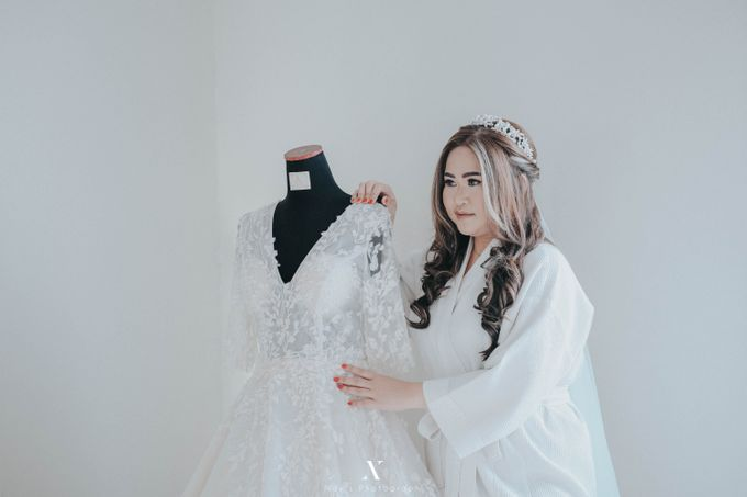 Wedding of Corry & Orlando by Elina Wang Bridal - 005