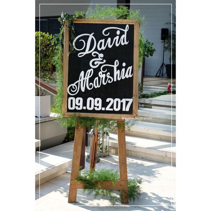 David & Marshia by Yulika Florist & Decor - 002