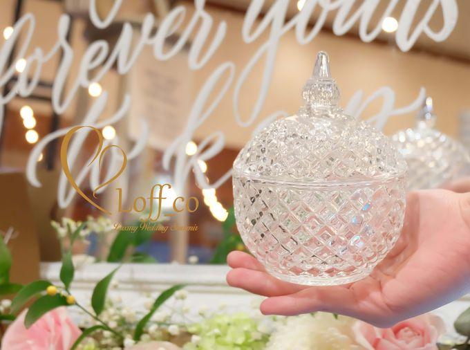 Luxury Crystal Grid & Ceramic Jar by Loff_co souvenir - 006
