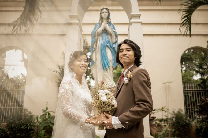 Intimate Wedding of Astri & Aldo by Saturasi Moment - 001