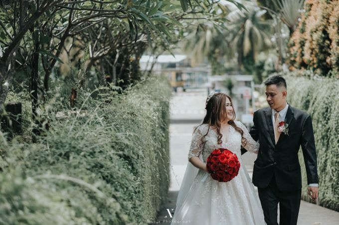 Wedding of Corry & Orlando by Elina Wang Bridal - 010