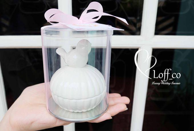 Luxury Crystal Grid & Ceramic Jar by Loff_co souvenir - 008