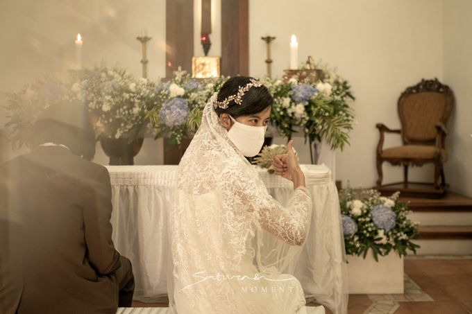 Intimate Wedding of Astri & Aldo by Saturasi Moment - 002