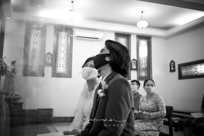 Intimate Wedding of Astri & Aldo by Saturasi Moment - 007