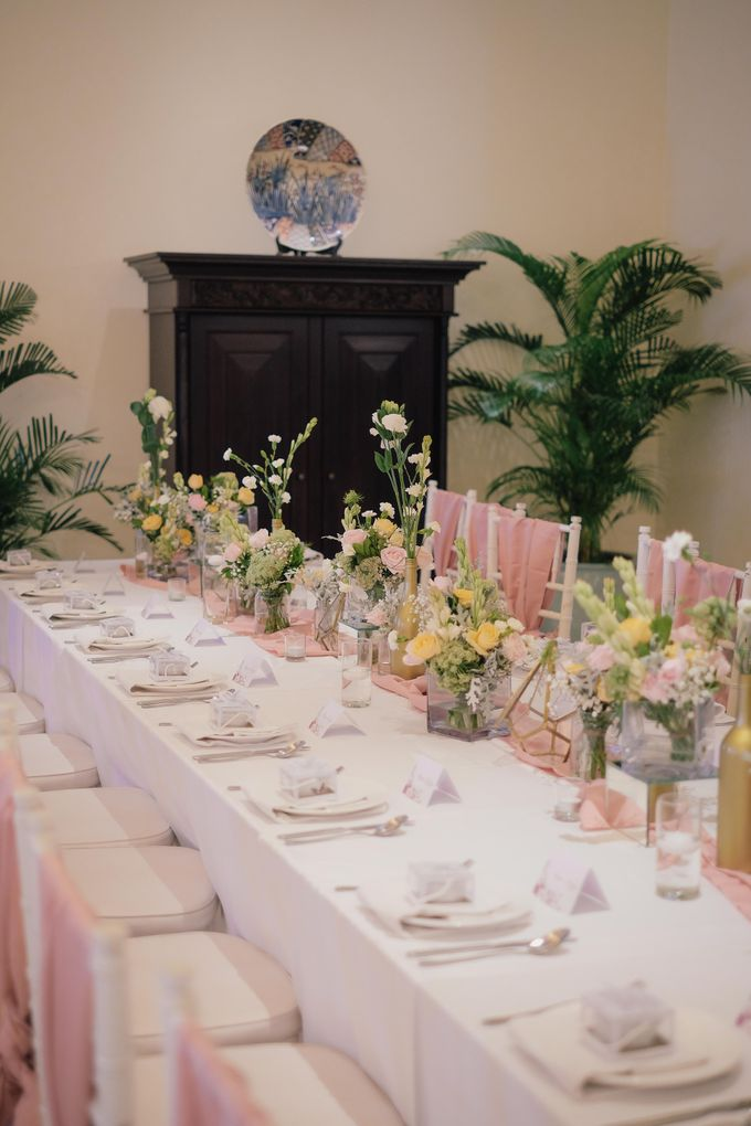 Rumah Luwih Engagement Dinner by Bali Flower Decor - 005