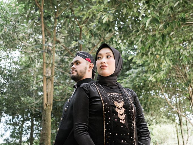 Couple Session of Arif & Ayu (Javanesse Modern) by Agah Harsa Photo - 001