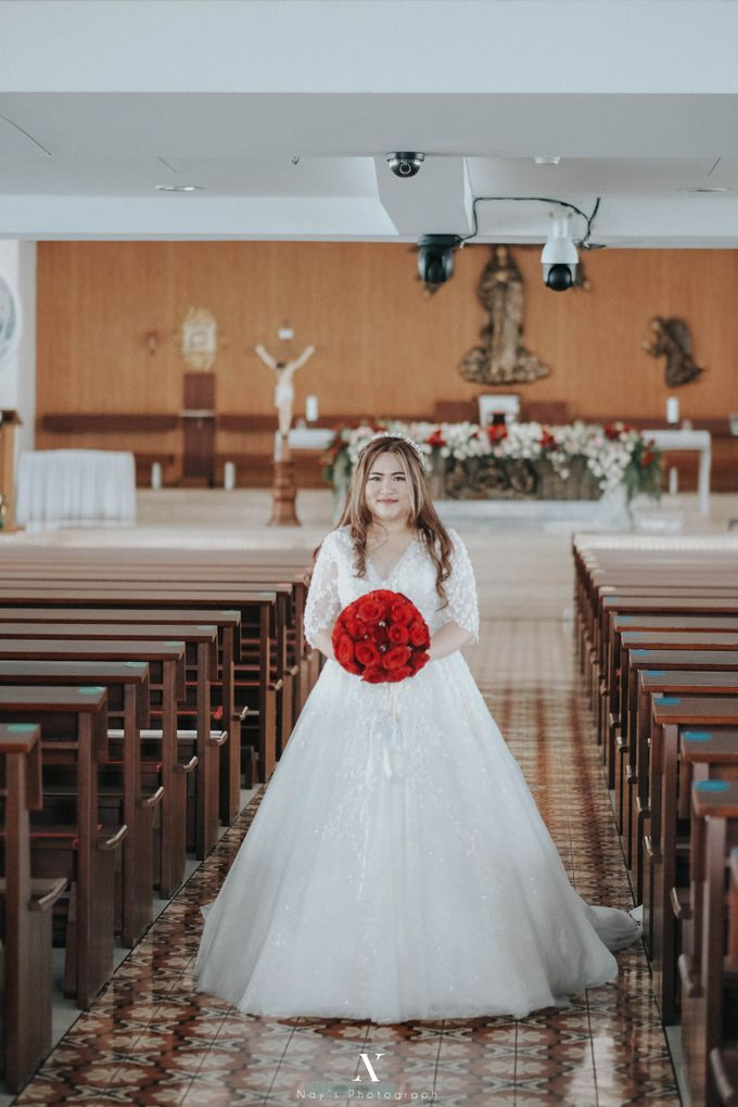 Wedding of Corry & Orlando by Elina Wang Bridal - 001