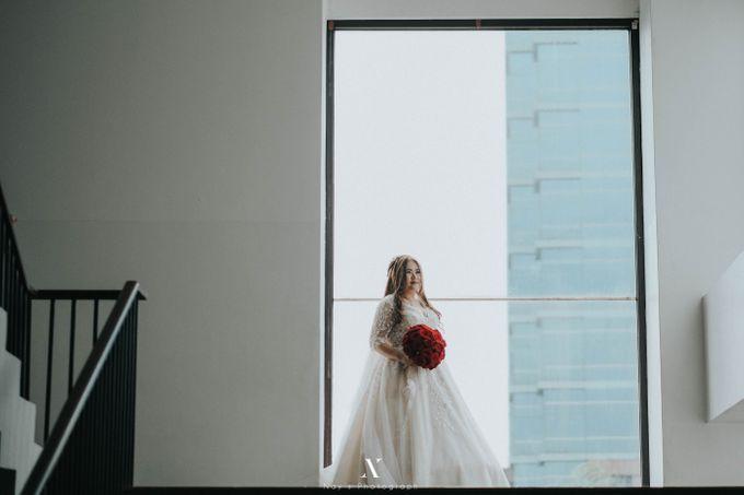 Wedding of Corry & Orlando by Elina Wang Bridal - 002