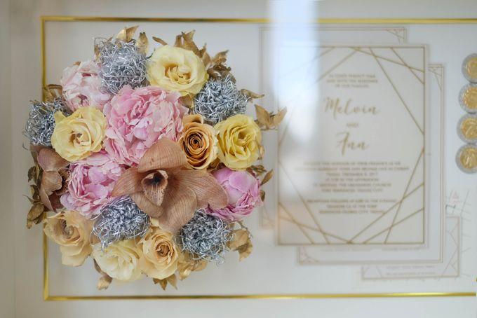 Ann&Melvin Wedding Preserved Wedding Bouquet by Gideon Hermosa by Camila V Flower Preservation Studio - 001