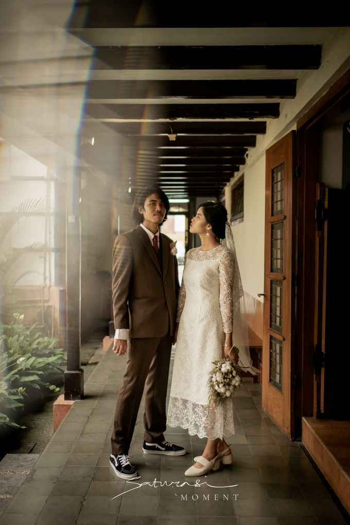 Intimate Wedding of Astri & Aldo by Saturasi Moment - 021