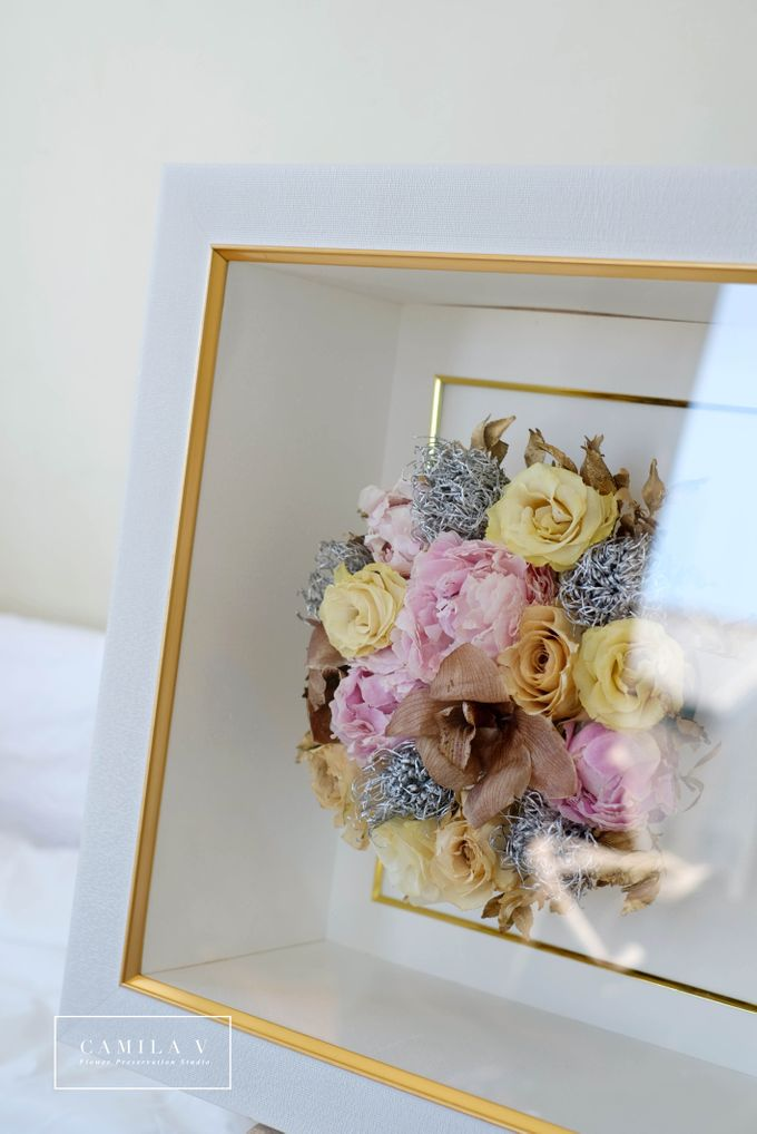 Ann&Melvin Wedding Preserved Wedding Bouquet by Gideon Hermosa by Camila V Flower Preservation Studio - 002
