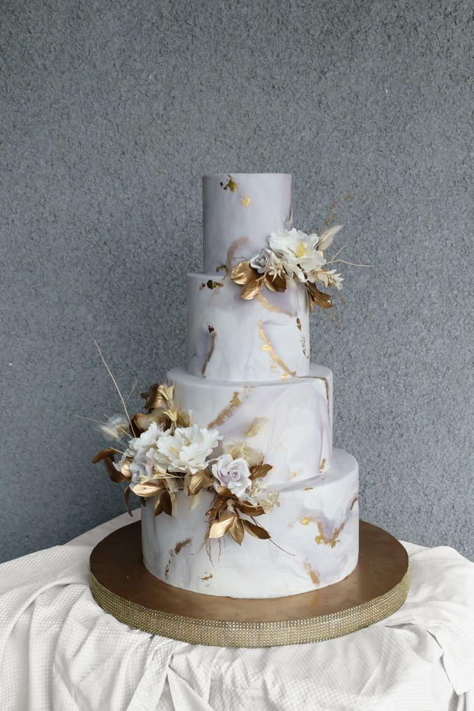The Wedding of Wurika & Farhan by KAIA Cakes & Co. - 001