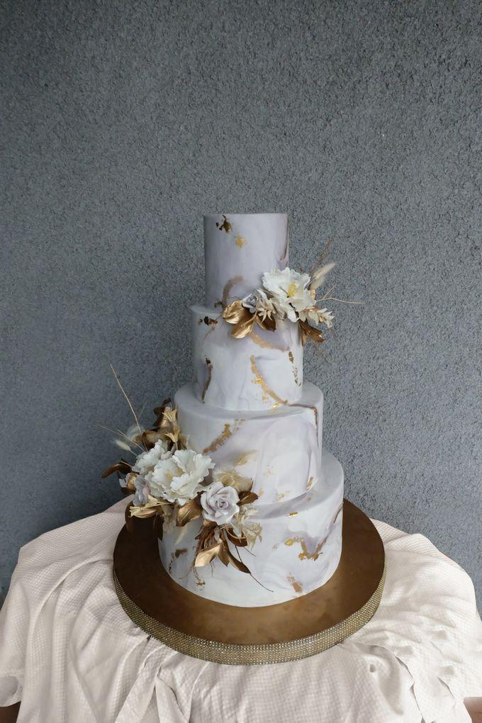 The Wedding of Wurika & Farhan by KAIA Cakes & Co. - 003