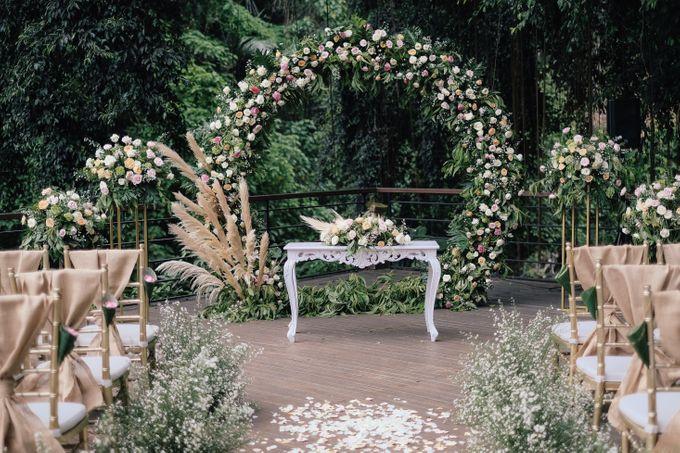Wedding at Riverside by Bali Flower Decor - 001
