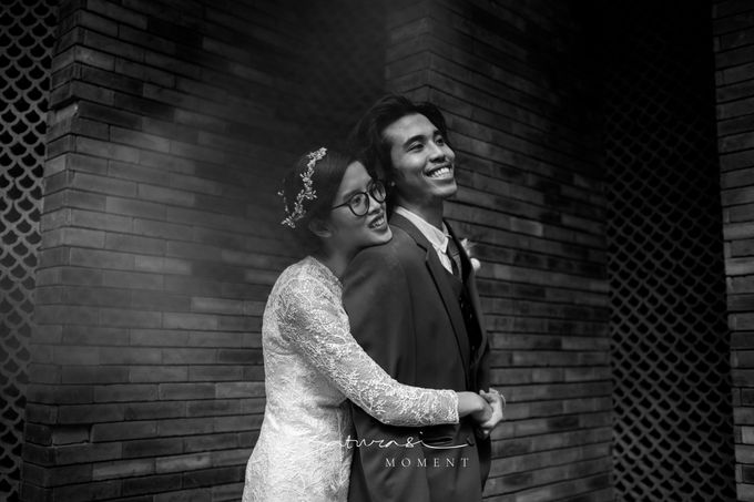 Intimate Wedding of Astri & Aldo by Saturasi Moment - 030