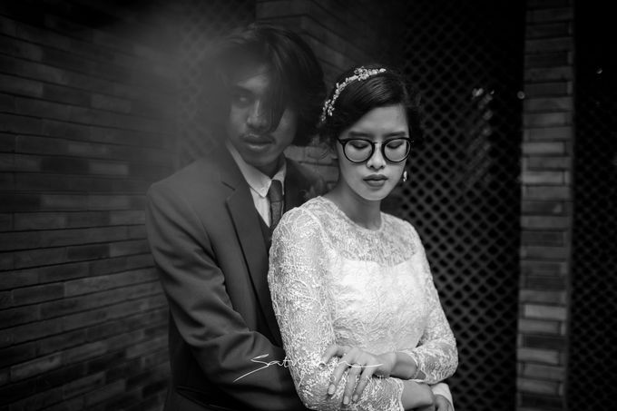 Intimate Wedding of Astri & Aldo by Saturasi Moment - 031