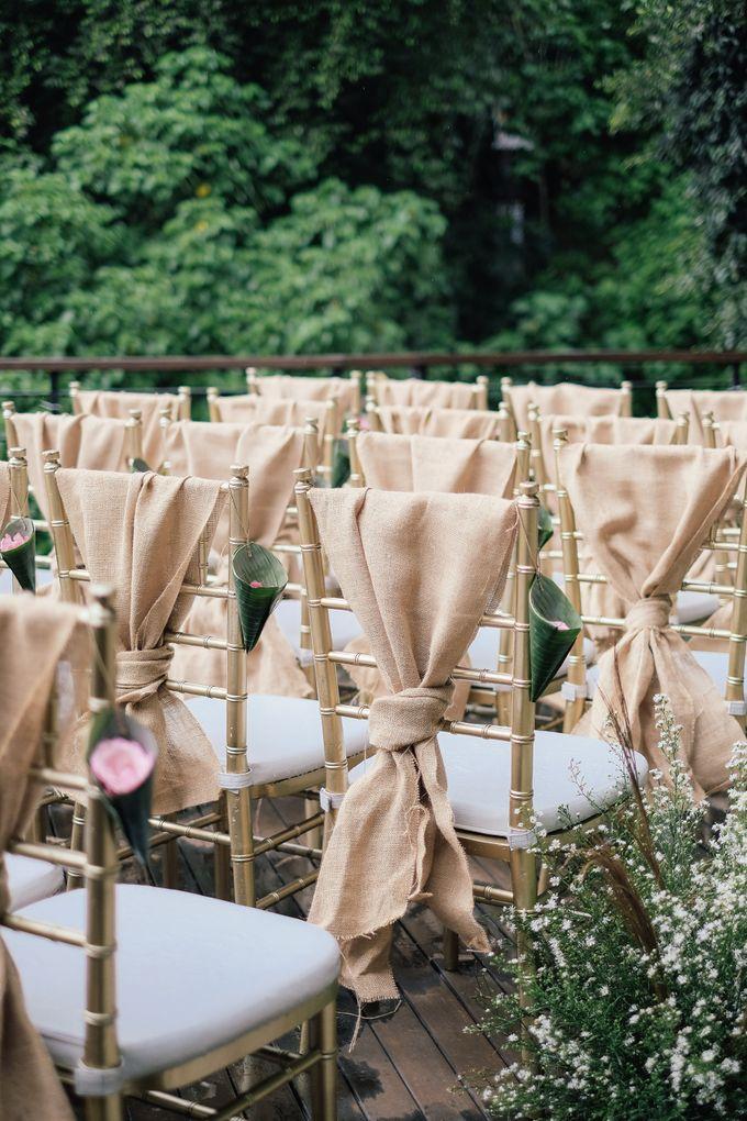 Wedding at Riverside by Bali Flower Decor - 005