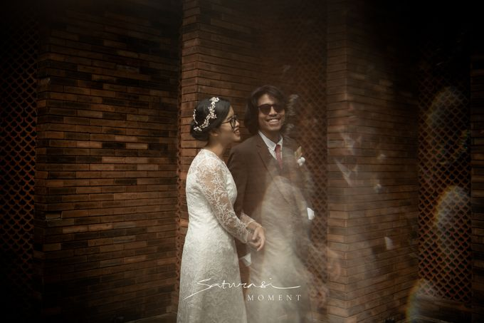 Intimate Wedding of Astri & Aldo by Saturasi Moment - 032