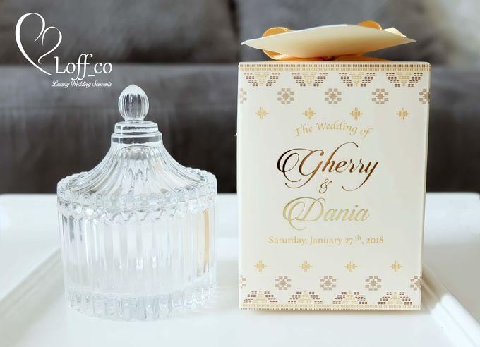 Luxury Crystal Grid & Ceramic Jar by Loff_co souvenir - 011