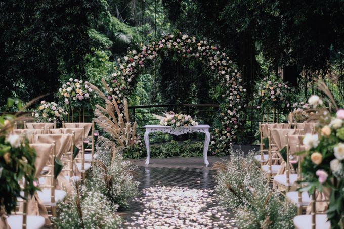 Wedding at Riverside by Bali Flower Decor - 007